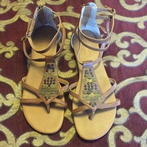 Maurice's Size 10 Brown Sandals